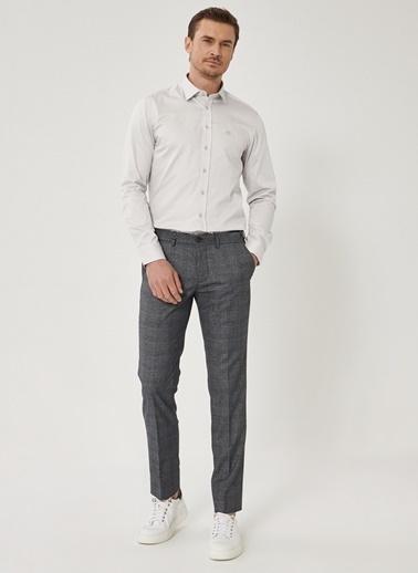 Beymen Business Slim Fit Beli Lastikli Pantolon 4B0121100031 Mavi